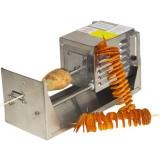 Аппарат электрич., д/нарезки картофеля и яблок спиральной лентой
