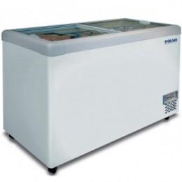 Морозильные лари POLAIR с прямой стеклянной крышкой линии Standard