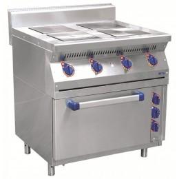 Плита электрическая четырехконфорочная с жарочным шкафом ЭПК-47ЖШ