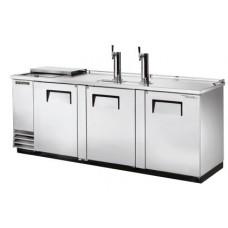 Модуль пивной холод., 2 крана, 4 кеги, ларь-охладитель, нерж.сталь