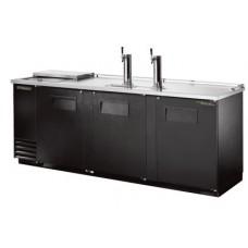 Модуль пивной холод., 2 крана, 4 кеги, ларь-охладитель, чёрный