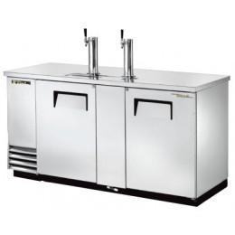 Модуль пивной холод., 2 крана, 3 кеги, ларь-охладитель, нерж.сталь