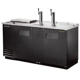 Модуль пивной холод., 2 крана, 3 кеги, ларь-охладитель, чёрный