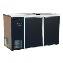 Модуль пивной холод., для 8 пив. кег по 20л, краш.металл+оцинк.