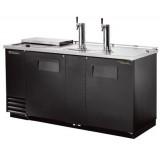 Модуль пивной холод., 2 крана, 2 кеги, ларь-охладитель, чёрный