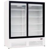 Холодильный и морозильный шкаф Duet G2 со стеклянными дверьми-купе