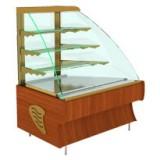 Угловые неохлаждаемые витрины и неохлаждаемые прилавки-витрины Elegia Premium
