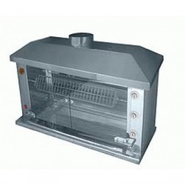 Аппарат жарочно-тепловой (гриль) газ. для кур Ф3Ш2Г, Ф4У2Г